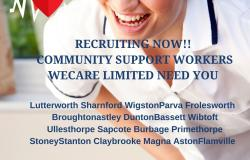Community Support Workers – Individuals Own Homes